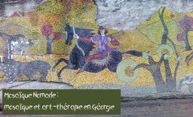 Project visual Mosaique et art-thérapie en Géorgie