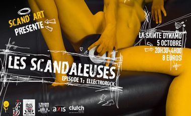 Visueel van project Les Scandaleuses - Épisode 1 : ELLEctrorock