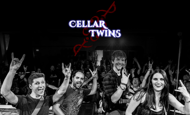 Visuel du projet Cellar Twins: Prenez part au futur du rock belge !