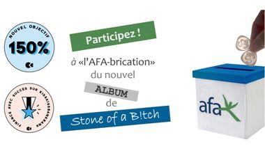 Project visual Stone of a B!tch donne le LA pour l'AFA