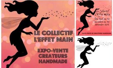 Visuel du projet Le collectif l'Effet Main - boutique éphémère décembre 2013