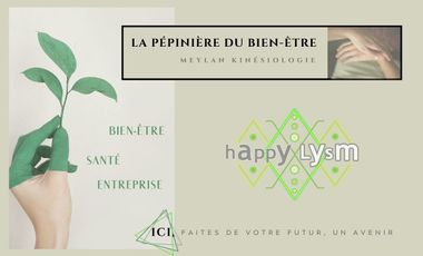 Project visual HappyLysm : la Pépinière du bien-être