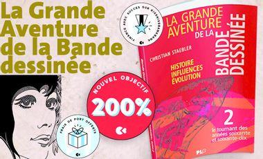 Visueel van project La Grande Aventure de la BD - Tome 2