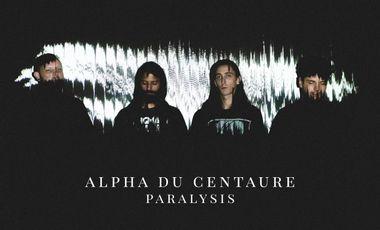 "Visueel van project Alpha du Centaure - First LP ""Paralysis"""