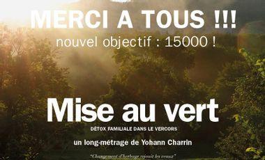 Project visual MISE AU VERT - Détox familiale dans le Vercors