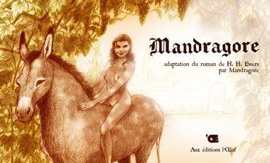Visueel van project Mandragore, adaptation BD du roman fantastique d'H.H. Ewers