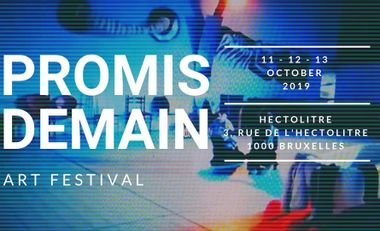 Visueel van project PROMIS DEMAIN, art festival.