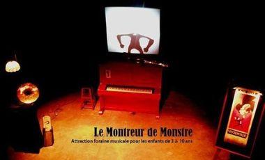 Visueel van project Spectacle jeune public / Le montreur de monstre
