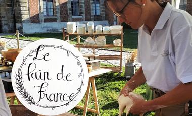 Project visual Le pain de France , boulangerie Bio