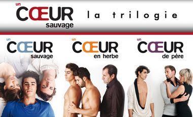 Project visual UN COEUR SAUVAGE - LA TRILOGIE