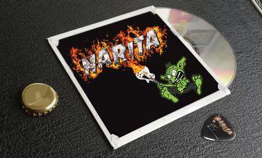 Visuel du projet NARITA enregistrement 1er EP 5 titres