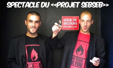 """Project visual SPECTACLE DU """"PROJET SEBSEB"""""""