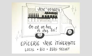 Visueel van project Vrac'Adabra : Epicerie Vrac Itinérante