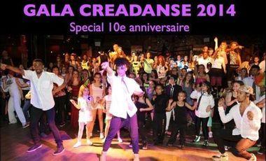 Visuel du projet Gala Creadanse 2014 special 10e anniversaire