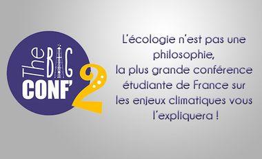 Project visual The Big Conf : la conférence étudiante sur les enjeux énergie/climat de demain!