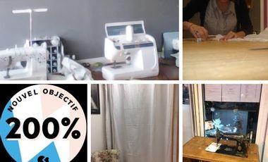 Visuel du projet Participez à l'achat d'une surjeteuse