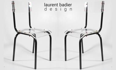 Project visual Les Adulescentes, vos chaises d'école revisitées