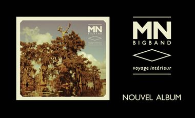 Visueel van project MNBigBand / 1er album