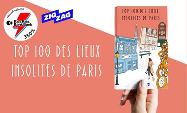 Visuel du projet TOP 100 des Lieux Insolites de Paris