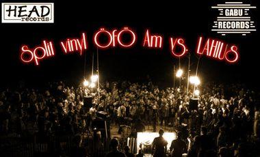 Project visual Devenez producteur du split vinyl ÖfÖ Am - Lahius