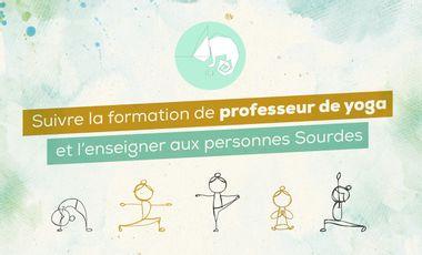 Visuel du projet Future prof de yoga Sourde & plus encore!