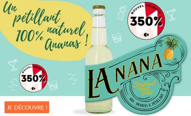 Visueel van project LaNana - Pétillant d'ananas