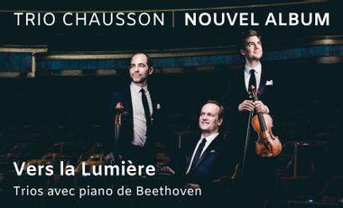 Visueel van project Vers la Lumière: trios avec piano de Beethoven