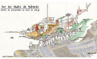 Visueel van project -Sur les Ghats de Bénarès-