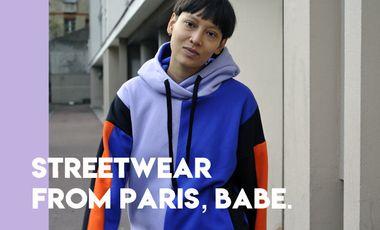 Project visual Le streetwear cool et responsable