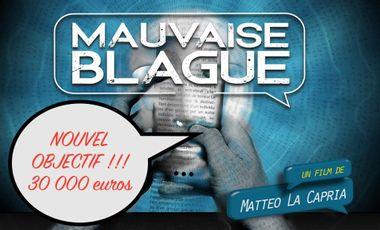Project visual Mauvaise Blague, le film ! Un court-métrage choc.