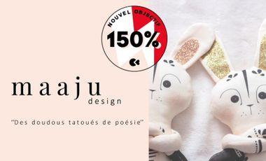 Project visual Les Doudous Tatoués de maaju Design