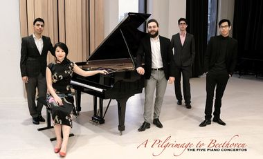 Project visual A Pilgrimage to Beethoven - The five piano concertos