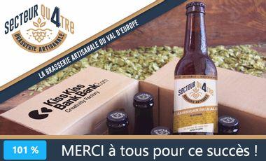 Visuel du projet Brasserie SECTEUR QU4TRE : les bières du Val d'Europe