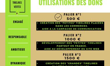 Project visual Les Tirelires Vertes