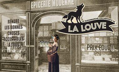 Visuel du projet Le Supermarché Collaboratif de la Louve