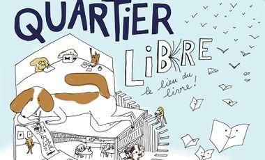 Visuel du projet Quartier Libre, le Lieu.n du Li(v)re 4.0