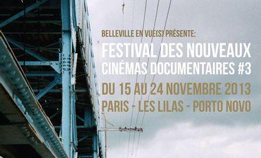 Visuel du projet Festival des Nouveaux Cinémas Documentaires