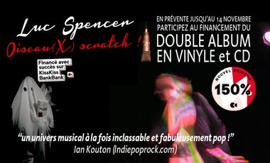 Project visual Deuxième album de Luc Spencer