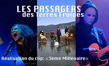 """Visueel van project Réalisation du clip sur notre prochain titre """"3ème Millénaire"""""""