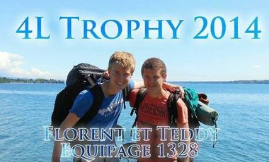 Project visual 4L Trophy 2014 Florent & Teddy