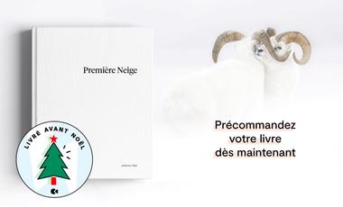 Visueel van project «Première Neige», the First Photo Book by Jérémie Villet