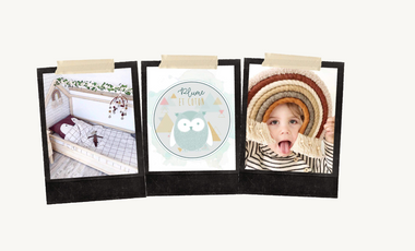 Visueel van project Plume et Coton, l'atelier d'accessoires pour bébé