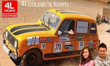 Visuel du projet 4L Cousin ' S Team - 4L Trophy