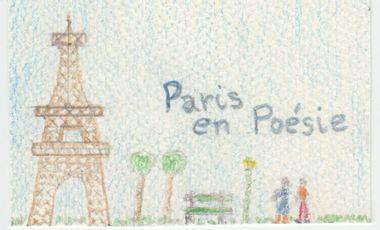 """Visueel van project Livre """"Paris en Poésie"""" et Promotion"""