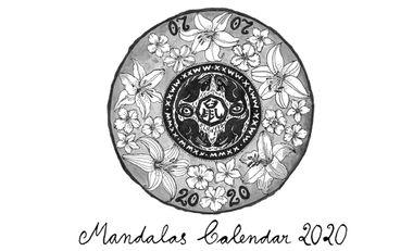 Visueel van project Ink Mandalas Calendar 2020