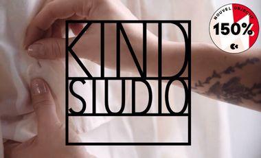 Visueel van project KIND STUDIO, womenswear made with kindness & passion.