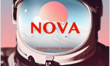 Visueel van project NOVA - Science fiction musicale