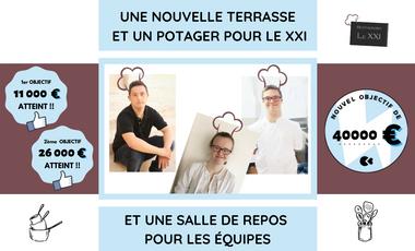 Visuel du projet Le XXI : Restaurant inclusif et solidaire à Rouen