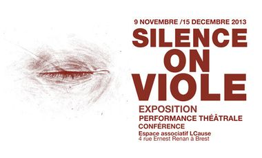 Project visual Silence on viole