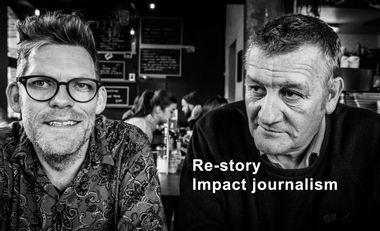 Visuel du projet Re-story: des histoires de penseurs et d'acteurs du nouvel âge